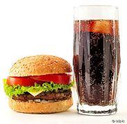 Burger und Cola